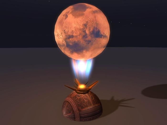 Steampunk Mars Holo-Globe_CMT