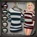 20.FIVE Mesh Off-Shoulder SweaterDress