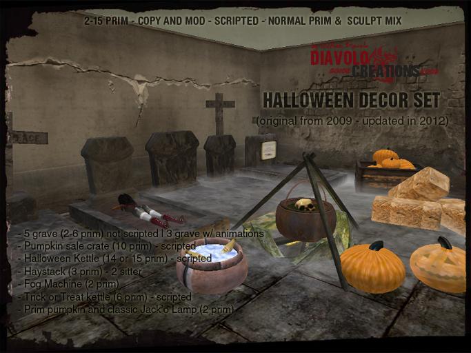 [dc] Halloween Decor Set