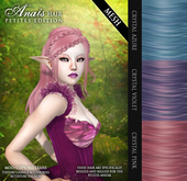 /Wasabi Pills/ Anais PETITE Mesh Hair - CRYSTALS Pack - for Yabusaka's PETITES MESH AVATARS