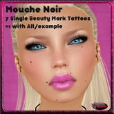 .:Glamorize:. Mouche Noir - 7 Beauty Mark/Mole Layers + 1 Example Layer