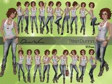 Diesel Works - Prima Donna Female Poses