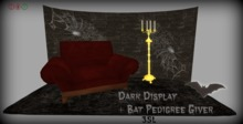 Dark Display and Bat Pedigree Giver for KittyCatS