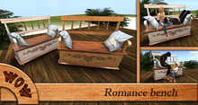 W.o.W. Gift - Romance bench (100% MESH) - couples animations