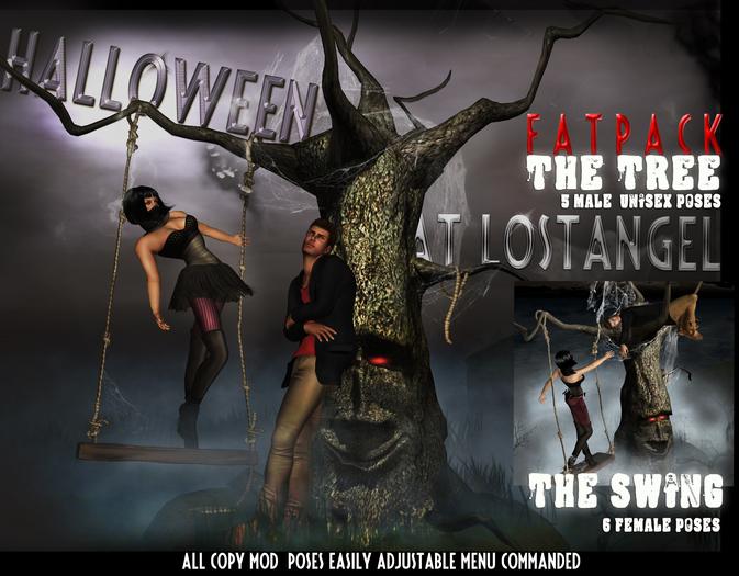 [LA] The Halloween Tree & Swing - Multipose