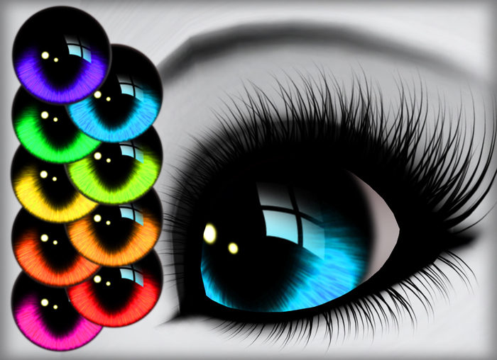 Reflective Eyes - Brights