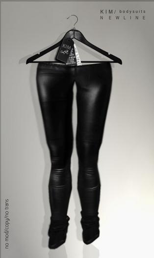 KIM- Mono Tights-Black