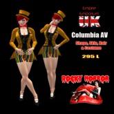Empire Bag - Rocky Horror Columbia AV - Costume