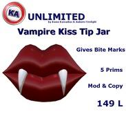 KA Vampire Kiss TIp Jar