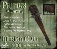 <SF> Primus Merida Club 1.11  - Spellfire Weapons