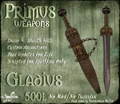 <SF> Primus Gladius 1.11  - Spellfire Weapons