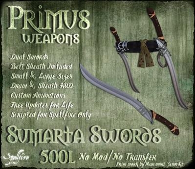 <SF> Primus Dual Sumarta Sword 1.11  - Spellfire Weapons