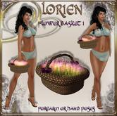 LORIEN FLOWERS BASKET I