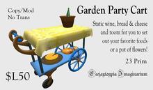 Garden Party Cart