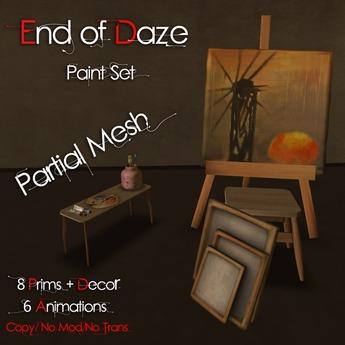 EoD Paint Set (Partial Mesh)