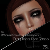 :Little Pricks: Dirty Tears Tattoo