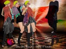 PROMO - ShuShu TAKE IT EASY 6 demo wearable MeSh