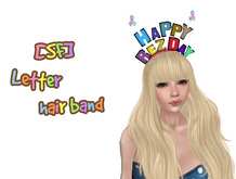 [SF] happy rezday hair band