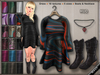 DN Mesh: HUD Controlled Dress with Boots