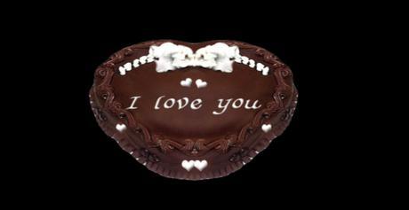 Pleasant Second Life Marketplace Mw Chocolate I Love You Cake Happy Funny Birthday Cards Online Fluifree Goldxyz