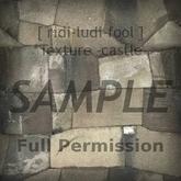 Texture 【CASTLE】 series ★ *castle stone floor (shadow) / Full permission