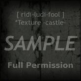 Texture 【CASTLE】 series ★ *castle concrete floor dark (L shadow) / Full permission