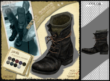 RONSEM* 5Hole Boots / black
