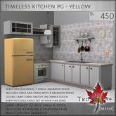 Trompe Loeil - Timeless Kitchen Yellow PG [mesh]