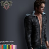 [LIV-Glam]::Everyday::Lukas Men's Denim Hoodie Jacket-10 Pantones Via Hud DEMO