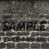 Texture 【CASTLE】 series ★ *wall 4-1 / Full permission
