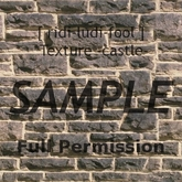 Texture 【CASTLE】 series ★ *wall 6-3 / Full permission