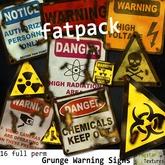 Frogstar - Grunge Warning Signs Fatpack