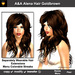 A&A Alena Hair Gold Brown (Special Color). Rich full soft curled long hairstyle