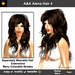 A&A Alena Hair Brunette (Color 4). Rich full soft curled long hairstyle