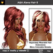 A&A Alena Hair Flame (Color 6). Rich full soft curled long hairstyle