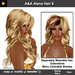 A&A Alena Hair Dark Blonde (Color 8). Rich full soft curled long hairstyle