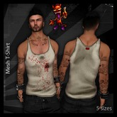 ..:: Drunk Devil ::.. ~ Bloody ~ MESH Tank