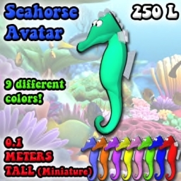 [Screwball Cartoon Avatars] Seahorse Avatar