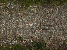Seamless texture of small rocks pathway