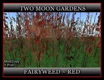 FAIRYWEED - RED*