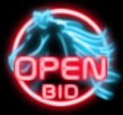 Open Bid Horse Sign