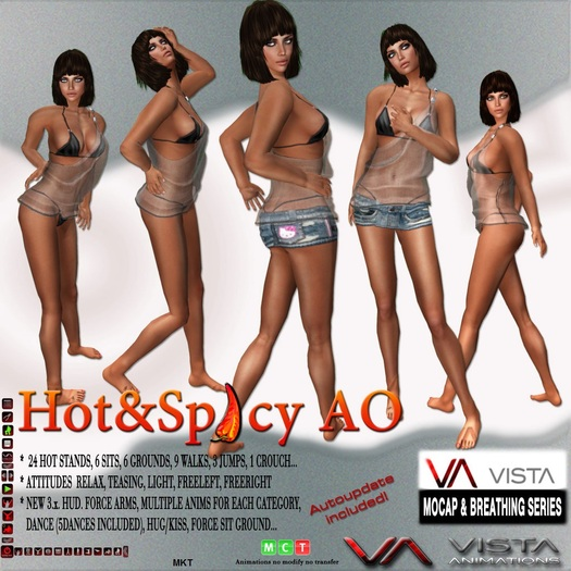 VISTA ANIMATIONS-HOT N SPICY AO-
