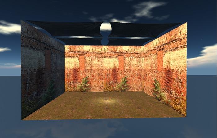 """0.5 LI """"Cube Skybox w Physics"""" any texture (mod, copy)"""