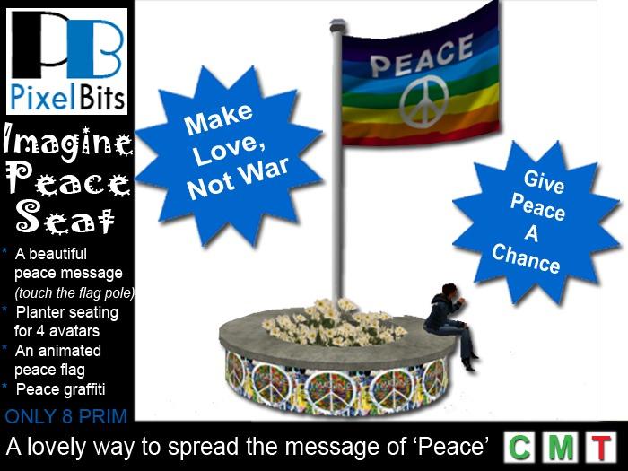 Imagine Peace Seat - FREE!