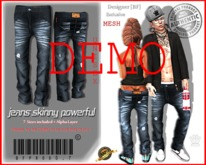 DEMO::[BuFu]::Prod0.7_Mesh_Jeans_Skinny_Powerful