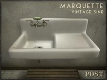 POST: Marquette Vintage Farmhouse Sink