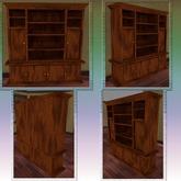 Dark Oak Cabinet. Mesh