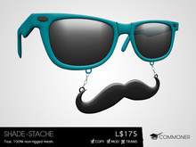 [Commoner] Shade-Stache / Teal