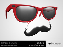 [Commoner] Shade-Stache / Red