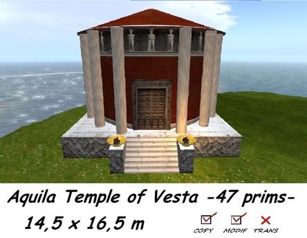 Aquila Temple of Vesta BOXED